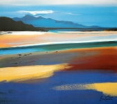 "Rum From Arisaig 18"" x15.5"" £110"