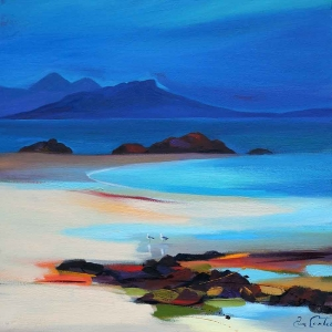 "Spectators To Eigg 20""x20"""