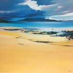"Niabost Sands 20""x20"" £110"