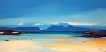 "Shoreline To Rum 16""x32"" image £300 Mounted"