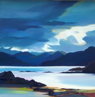 "Highlight In The Sound, Skye 32""x32"""