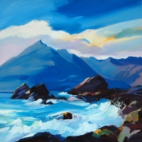 "High Seas, Elgol 28""x28"""