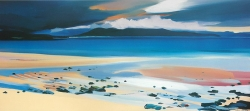 "Beach at Harris 37""x19"" £140"