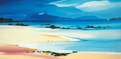 "Eigg From Kilmory 37""x19"" £140"