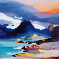 "Shadow of the Cuillin 32""x32"""