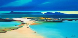 "Sandbar to Small Isles 20""x40"""