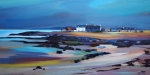 "Seaside Settlement 16""x32""  £300 Mounted"