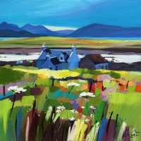 "Cuillin Cottage, Skye 20""x20"""
