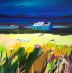 "Skye Light, Broadford 32""x32"""