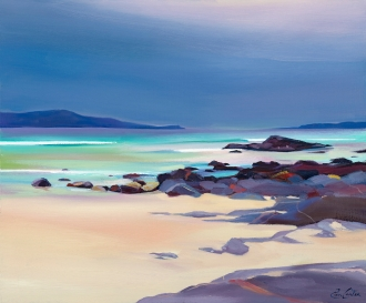 "Island Light 24""x18"" £300 Mounted"