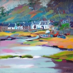 "Plockton Shores 20""x20"" £250 image Mounted"
