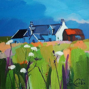 "Steading In Machair 8""x8"""