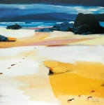"Footsteps On Lewis 20""x20"" £110"