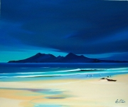 "Rum from Singing Sands 21""x26"""