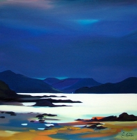 "Call of the Sound, Skye 32""x32"""