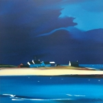 "The Row, Tiree 20""x20"" £110"