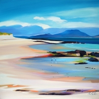 "Lowtide Colours To Uist 24""x24"""
