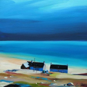 "Remote Cottages 20""x20"""