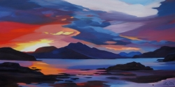 "The Morning Sound 16""x32"" £300"